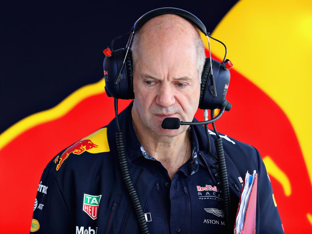 Adrian Newey ist seit Jahrzehnten fester Bestandteil im Formel-1-Zirkus
