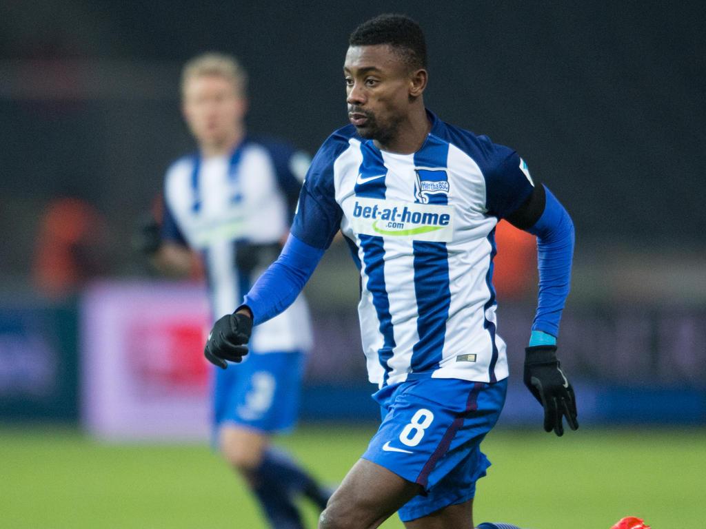 Salomon Kalou möchte gern bei Hertha BSC Berlin bleiben