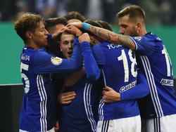 Schalke-Jubeltraube