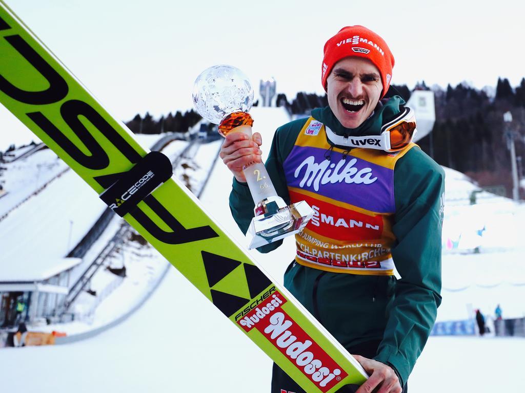 Richard Freitag dominierte das Skispringen im Dezember