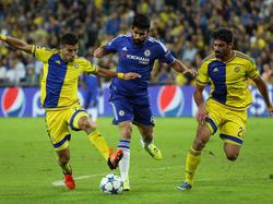Costa gegen zwei