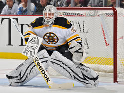 Tim Thomas (Goalie der Boston Bruins)