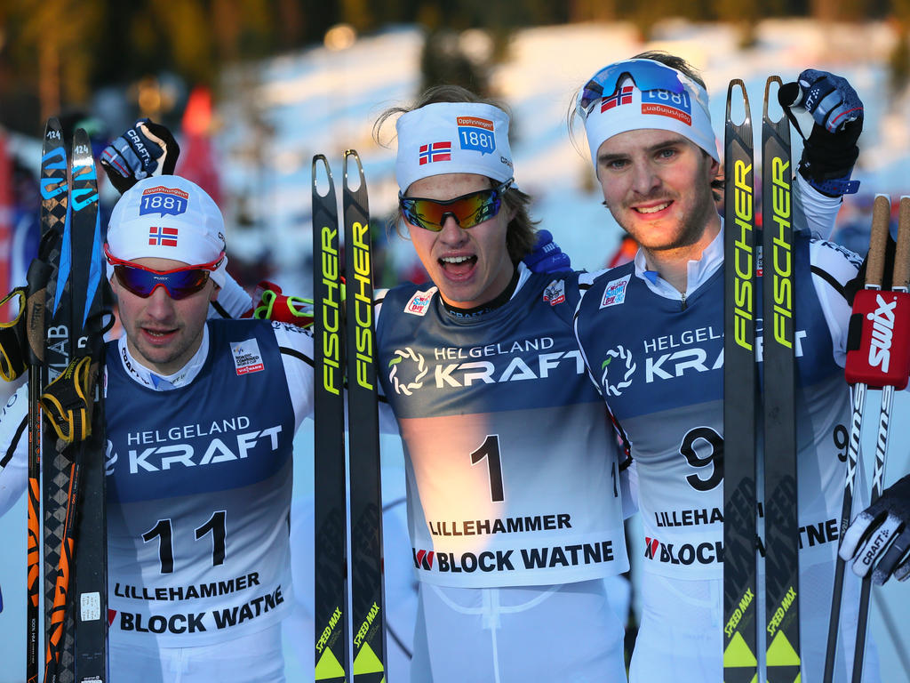 Die Norwegischen Kombinierer feierten einen Traumstart in die Saison