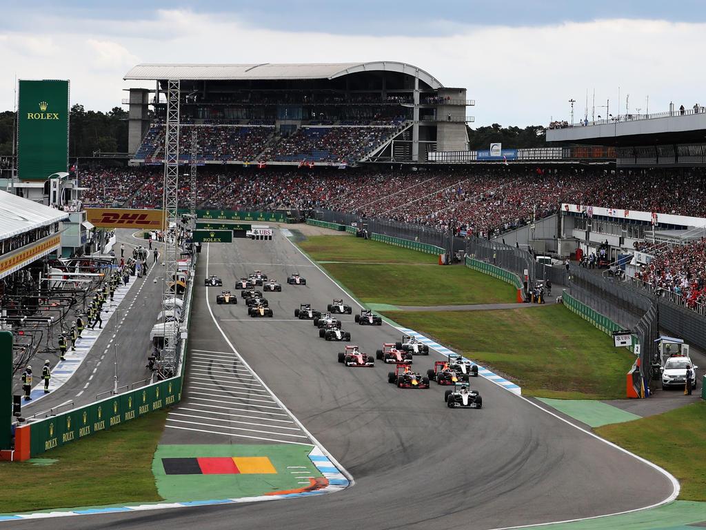 Nach einem Jahr Pause kehrt die Formel 1 nach Deutschland zurück