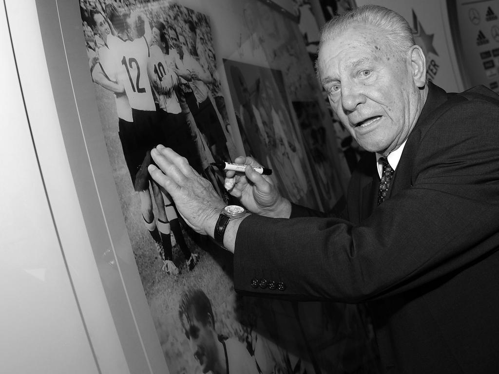 Hans Schäfer wurde 1954 Weltmeister