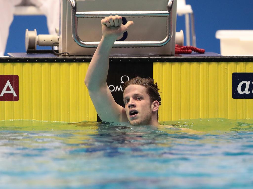 Philip Heintz ist Europameister über 200 Meter Lagen