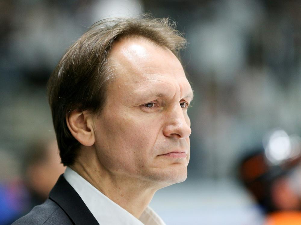 Trainer Pavel Gross sah eine Niederlage seiner Grizzlys