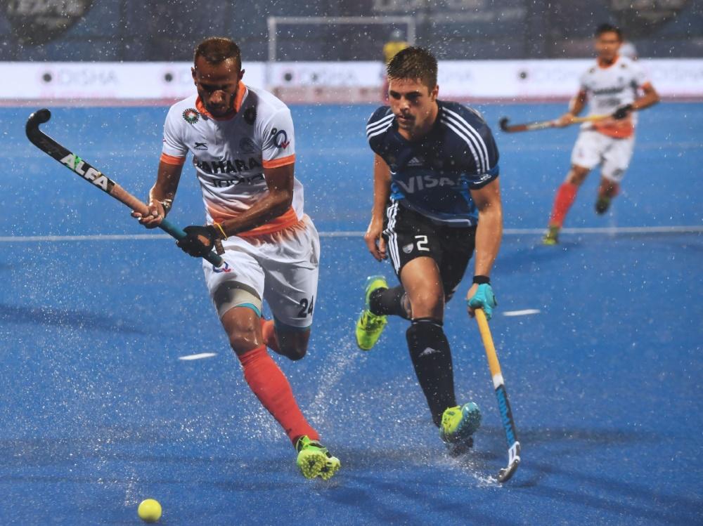 Gonzalo Peillat (r.) und Argentinien stehen im Finale
