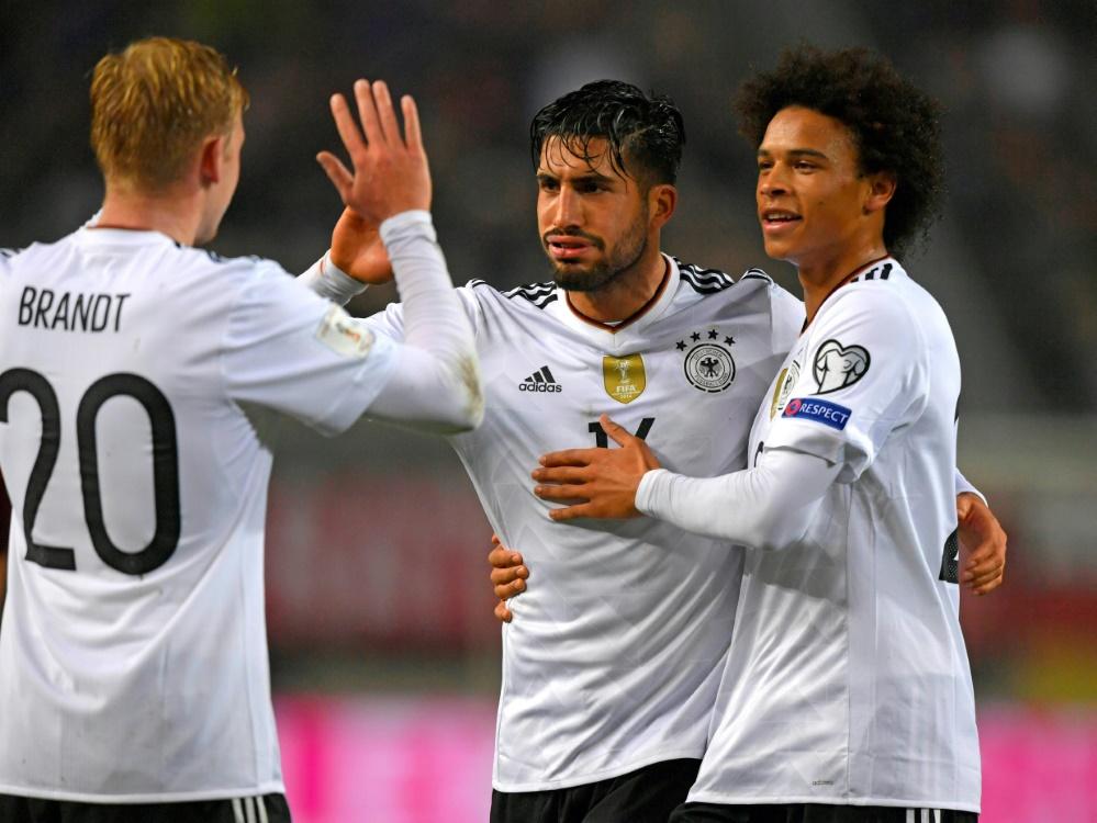Deutschland liegt in der Weltrangliste vor Brasilien und Portugal