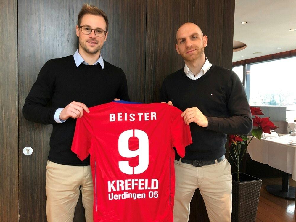 Maximilian Beister wechselt zum KFC Uerdingen